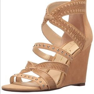 NEW IN BOX - Jessica Simpson Wedge Sandal - 9.5